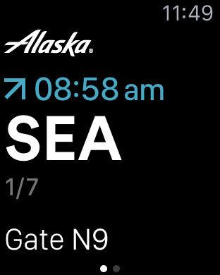 Alaska Airlines/Horizon Air Mobile App iPhone Screenshot 9