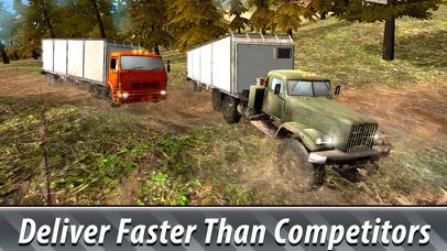 Offroad Cargo Truck Simulator 3D Full screenshot 3