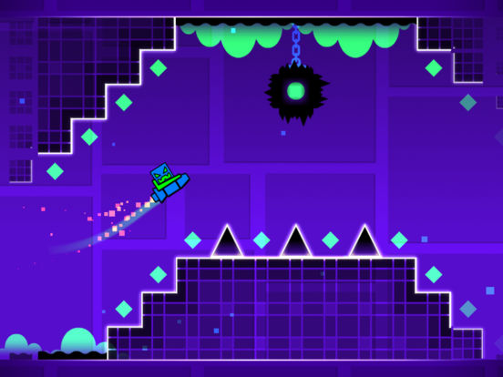 Geometry Dash App iPhone Screenshot #2 (© RobTop Games AB)