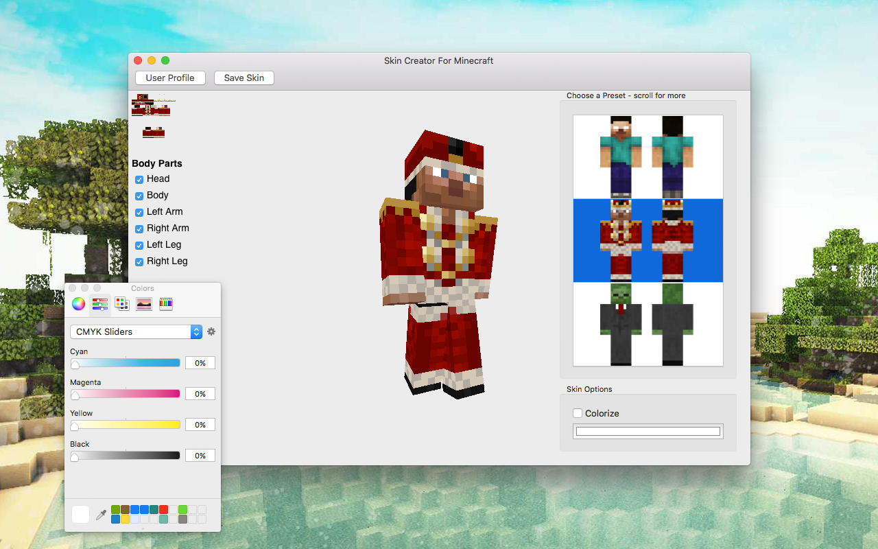 App shopper skin creator for minecraft graphics design for Minecraft 3d blueprint maker