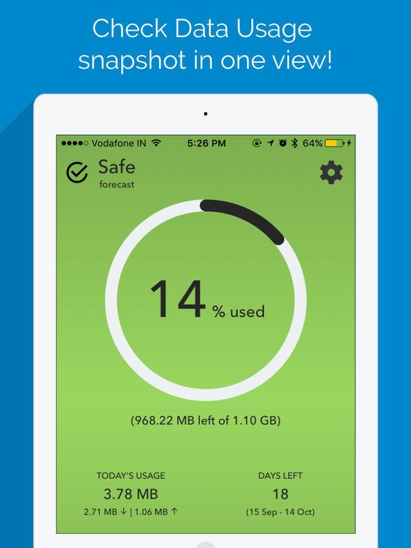 Data Tracker - Data Usage and Network Monitor Screenshots