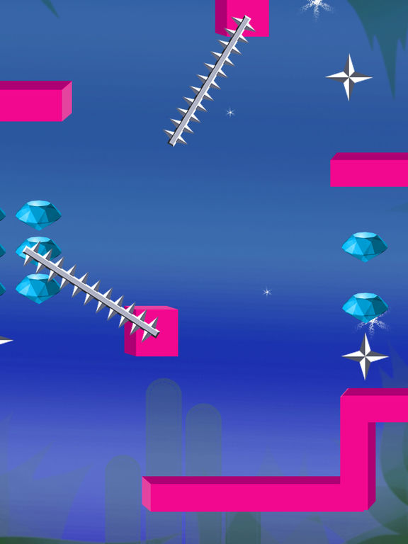 Screenshot #2 for Flappy Mini Shapey Heads