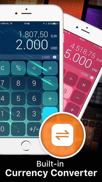 The Calculator. Screenshots