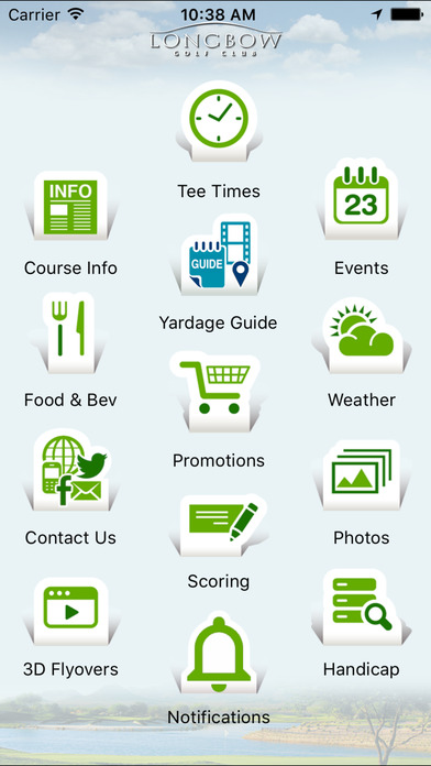 Longbow Golf Club iPhone Screenshot 2