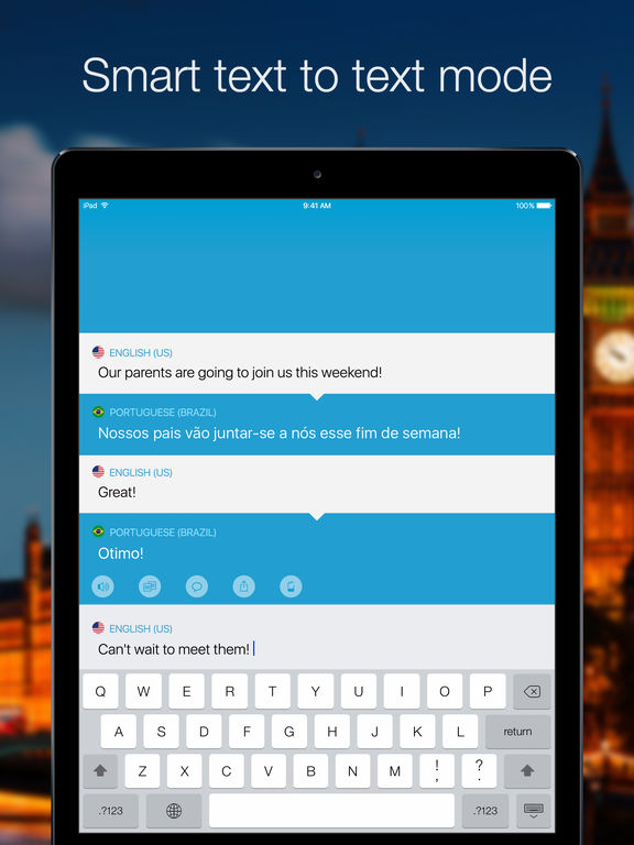 Screenshot #3 for Speak & Translate - Voice and Text Translator