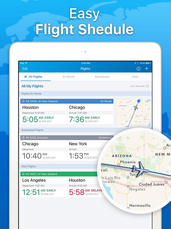 The Flight Tracker - Track Flights & Airline Info Screenshots