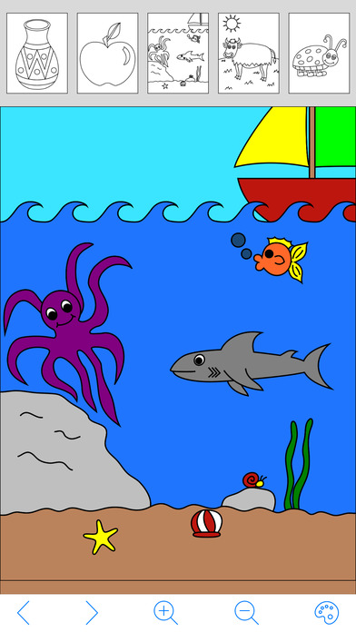 My Coloring Book Free iPhone Screenshot 3