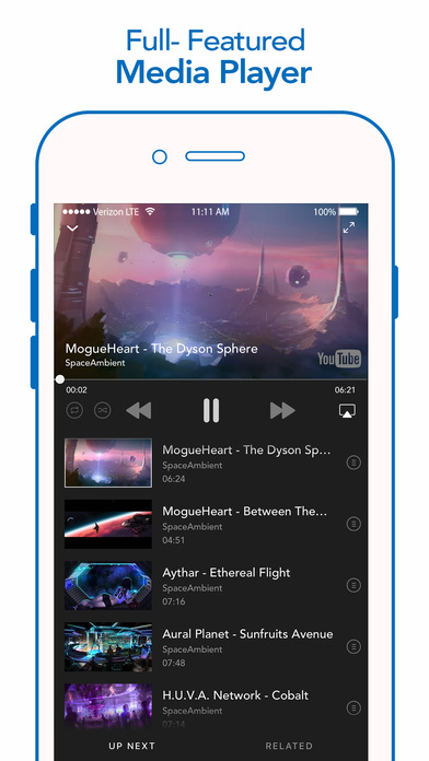 iMusic - Unlimited Music for SoundCloud & YouTube Apps free for iPhone/iPad screenshot