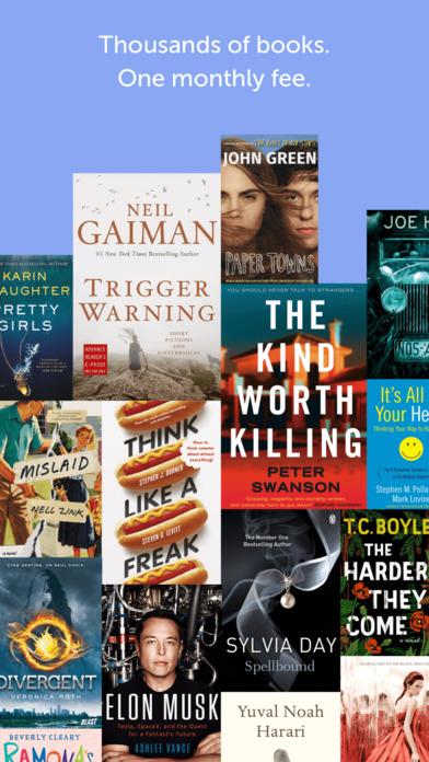 Bookmate iPhone Screenshot 1