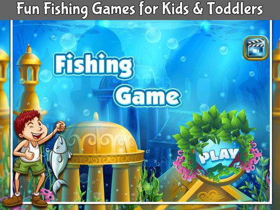 App shopper fishing game for kids fun baby games games for Fishing games for kids free