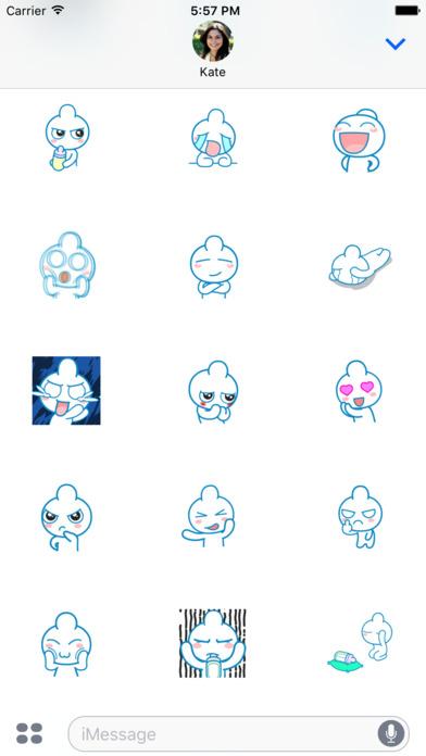 Baby Bottle Animated Emoji Stickers screenshot 3