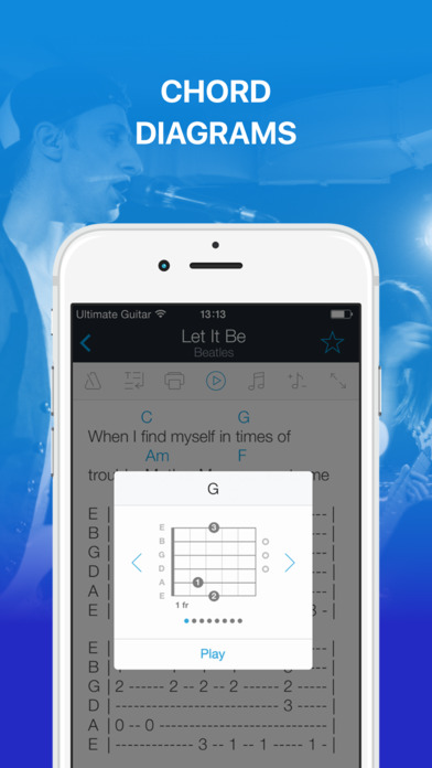download Tabs & Chords by Ultimate Guitar - learn and play apps 3