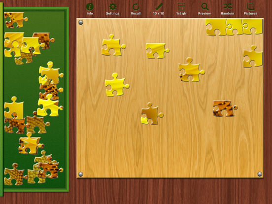 Bright Puzzles HD iPad Screenshot 1