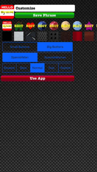 AutoVerbal Español iPhone Screenshot 3