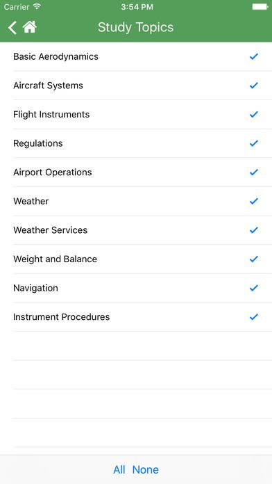 FAA Test Prep - Commercial Pilot (COM) iPhone Screenshot 4