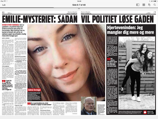 eBladet archive iPad Screenshot 2