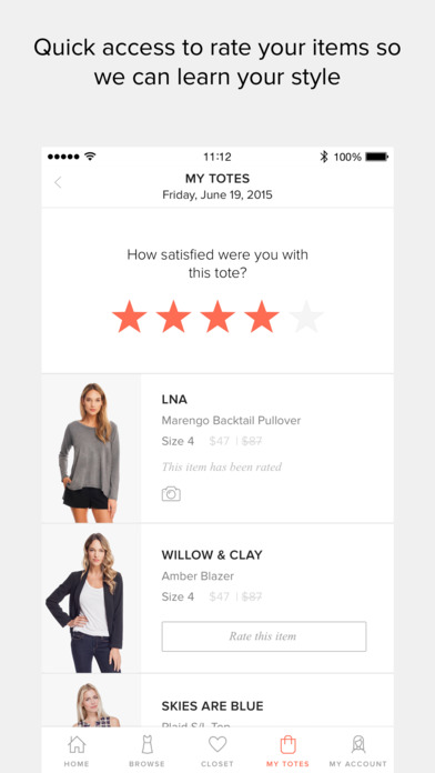 download Le Tote - Women's Fashion Rental Service apps 1