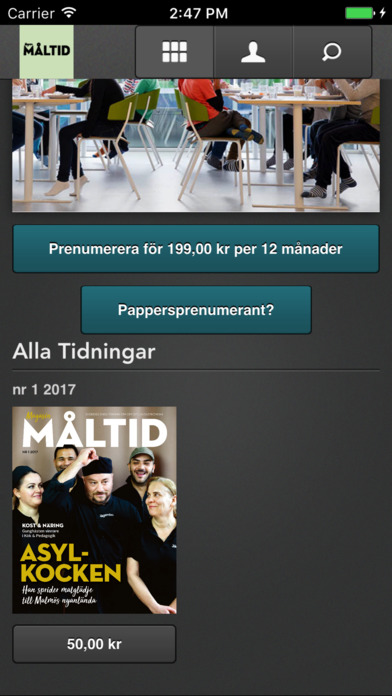 Magasin Måltid screenshot 2