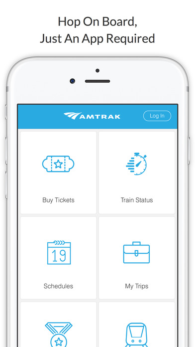 My Amtrak - Tickets, Train Status, Schedule, More Apps free for iPhone/iPad screenshot