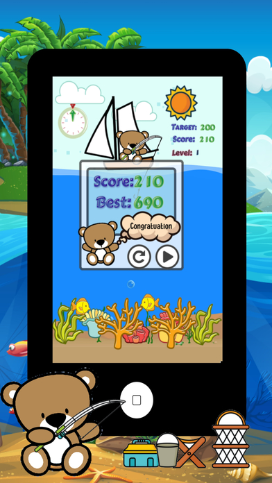 Hunting and fishing big fish adventure easy games app for Best fishing game app