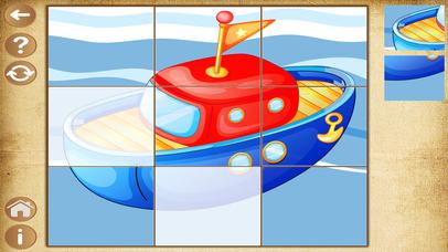 Детские игры для мальчиков Пазлы для малышей детей Скриншоты4