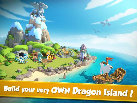 Screenshots of Dragon Mania Legends for iPad