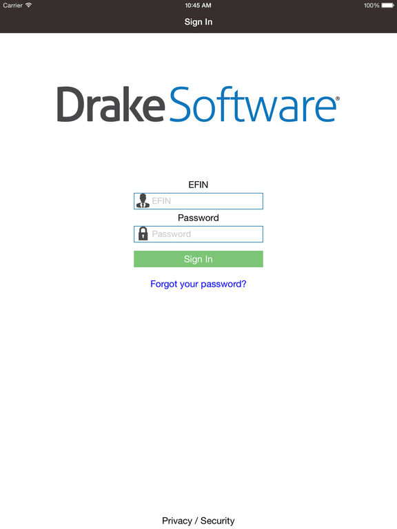 Drake software mobile app on the app store for Drake program