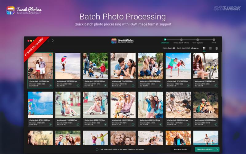 Tweak Photos - Batch Image Editing Made Easy Screenshots