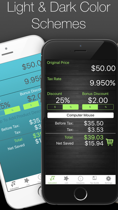 Discount Calculator - Sale Price Check Tax Percent app image