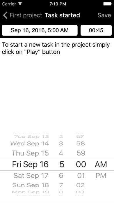 Task Tracker Utility iPhone Screenshot 4