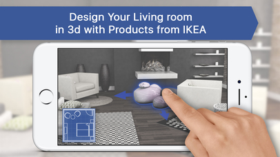 App shopper 3d living room for ikea interior design for 3d room planner ipad