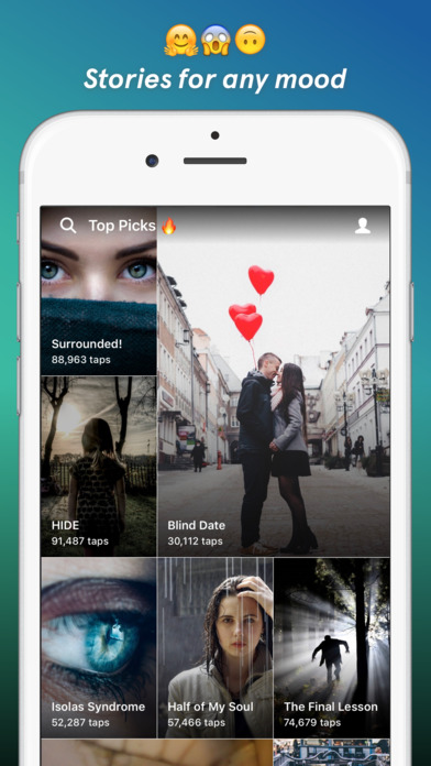 Tap - Chat Stories by Wattpad iPhone Screenshot 3
