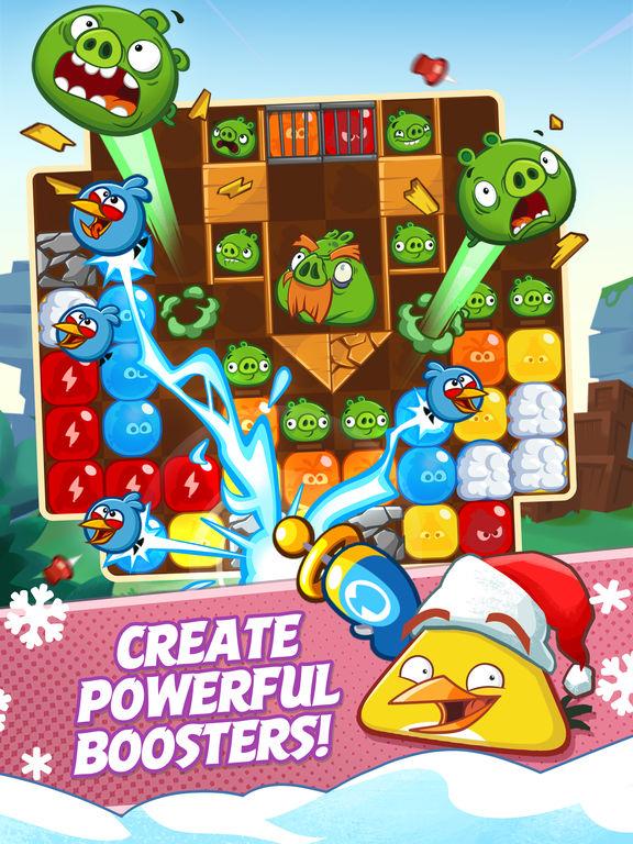 دانلود بازی جذاب Angry Birds Blast برای آیفون، آیپاد و آیپد - تصویر 1
