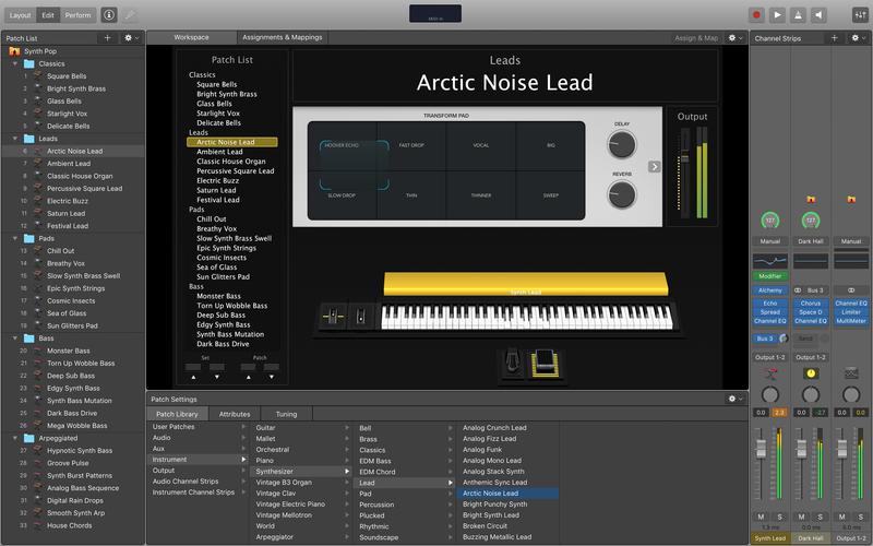 MainStage 3 for Mac 3.3.2 激活版 – 强大的现场演奏软件-麦氪派
