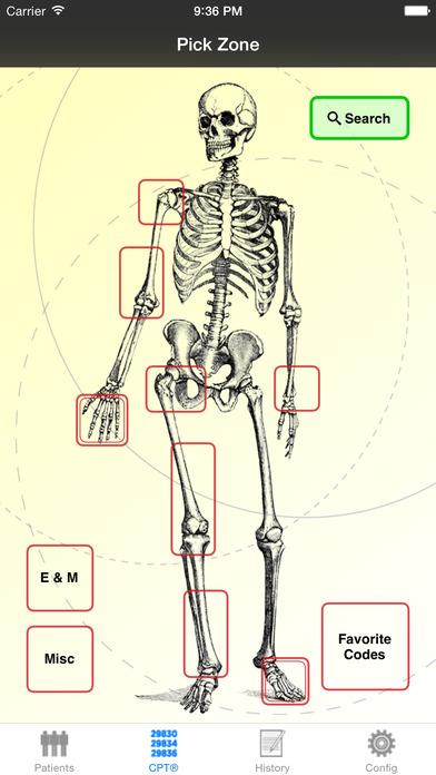 Mobile Coder Orthopedics iPhone Screenshot 1