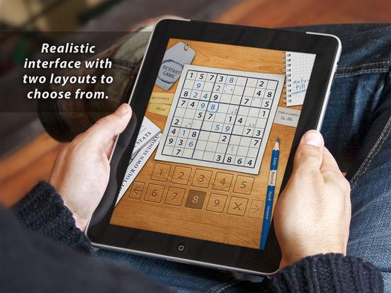 Sudoku HD for iPad iPad Screenshot 2