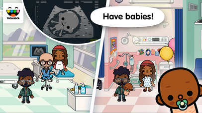 Toca Life: Hospital screenshot 2