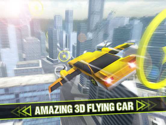 Extreme - Flying Car screenshot 5