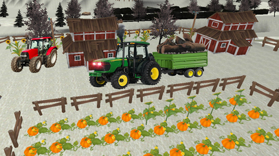 Farmer Tractor cargo sim Pro screenshot 1