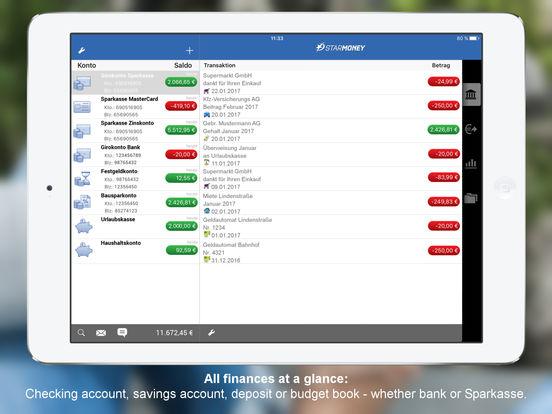 StarMoney für iPad - Mobile Banking für Banken und Sparkassen iPad Screenshot 1
