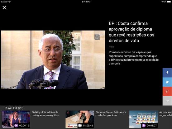 TVI24 iPad Screenshot 4