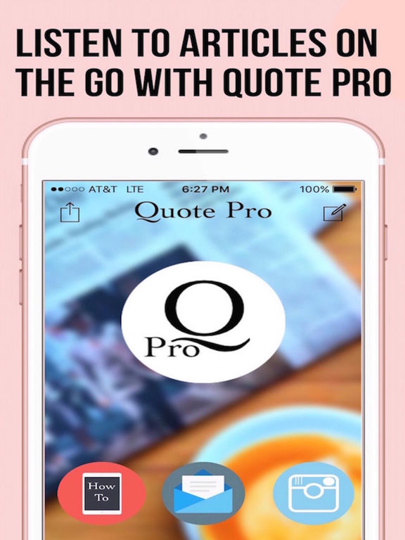 Quote Pro - The App that Reads Screenshots