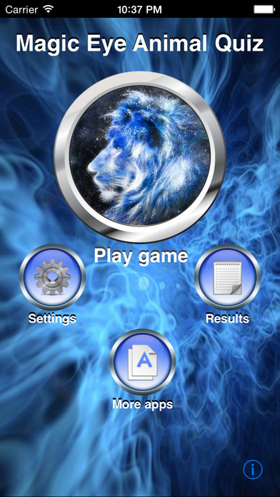 A Magic Eye Animal Quiz iPhone Screenshot 1