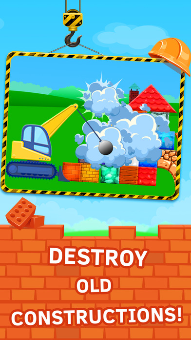 Building construction games for kids screenshot 3