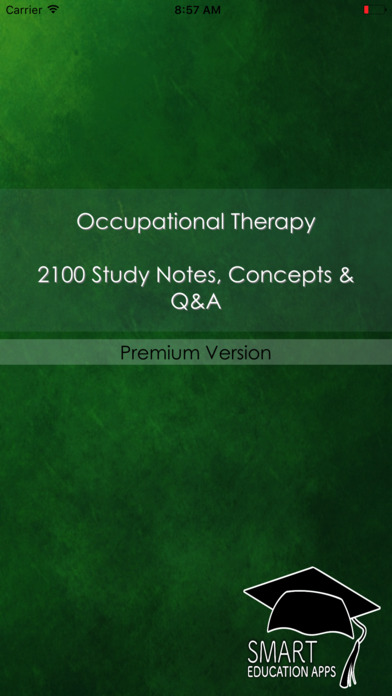 Occupational Therapy Exam Prep App 2017 : 2100 Q&A screenshot 1