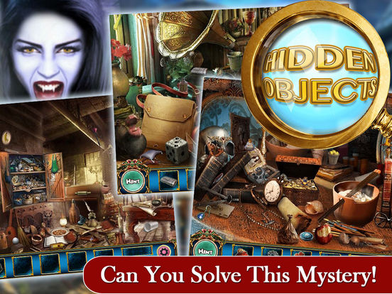 Hidden Object: The Haunted Illusions PRO screenshot 6