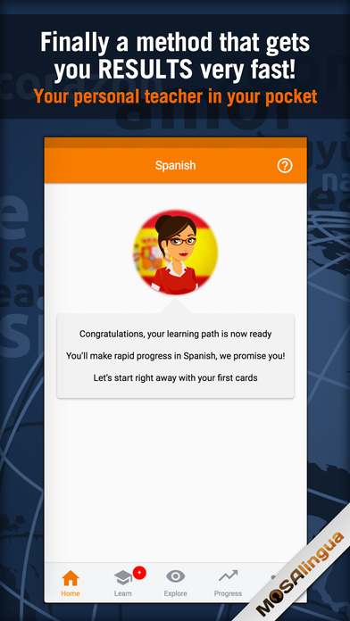 Learn to Speak Spanish Quickly With MosaLingua Screenshots