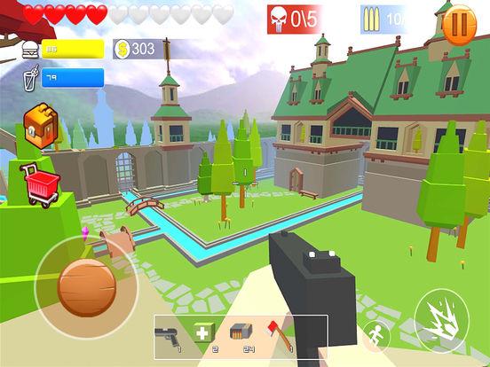Pixel shooting zombie screenshot 7