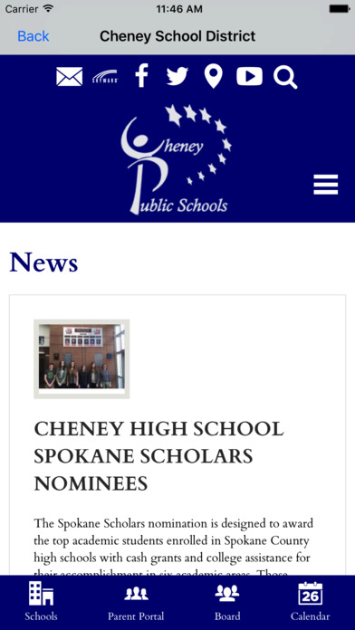 Cheney School District on the App Store