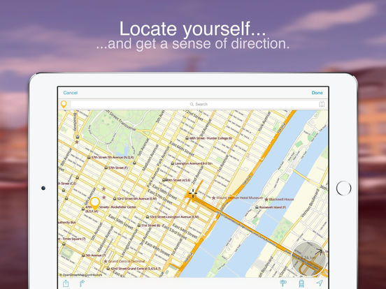 San Francisco on Foot : Offline Map Screenshots